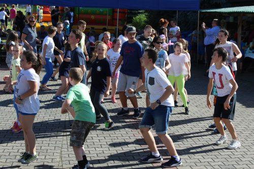 Rozpoczęliśmy Belgijką zatańczoną pod kierunkiem p. Soni