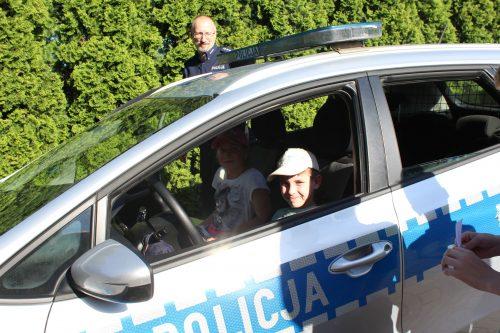 Odwiedziła nas także policja