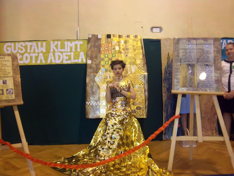 Złota Adela w pełnej krasie