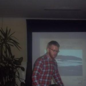 Geograf Piotr Burczy