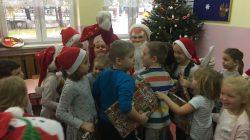 Dziękujemy Mikołajowi za prezenty