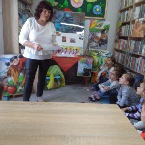 Pani Urszula prezentuje wiersz