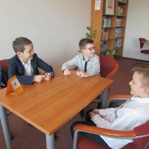 Reprezentacja szkoły w młodszej grupie wiekowej